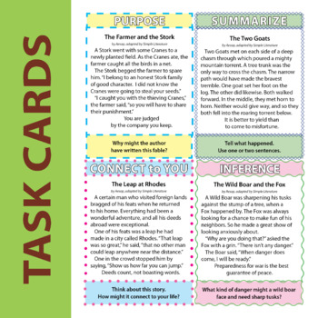 2SL - Fables and Folklore - FREE Comprehension Questions and Answers