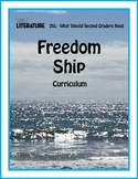 2SL - Freedom Ship Comprehensive Book Reading Unit - Picture Book Study Packet