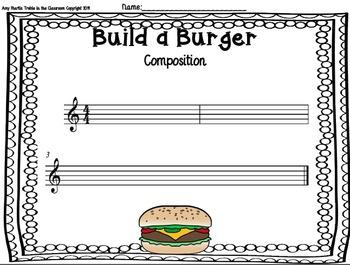 Build a Burger Composition Guidance Set