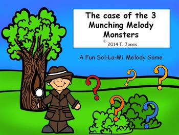 Music Game: Musical Monsters Mystery {3 Munching Melody Monsters Sol La Mi}