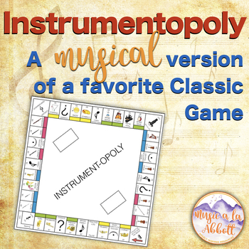 Music Games: Instruments! Inspired by an American Classic Board Game