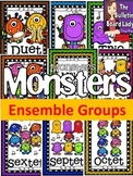 Monsters Ensembles Solo, Duet, Trio, etc...