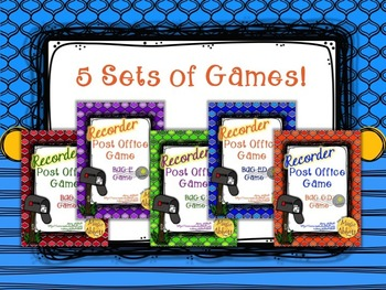 Recorder Post Office Games: a Bundle of Decoding and Recorder Playing Game