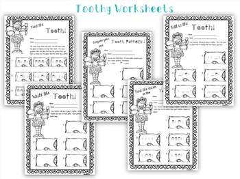 Toothy Rhythms!  A Collection of ta ti-ti activities, worksheets and assessments
