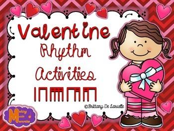 Valentine Rhythm Activities - Ta, Ti-ti, Ti-ri-ti-ri, Ti-t