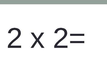 2 x Multiplication FlashCards  ppt