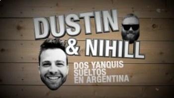 Dos Yanquis Sueltos En Argentina  - Dustin y los mejores sandwich de milanesa