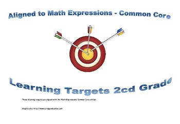 2cnd Grade Math Expressions Learning Targets