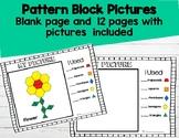 2d-Plane Shapes Pattern Block Picture Practice