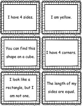 2d Shape Clue Match