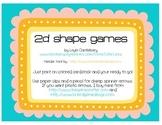 2d Shape Games