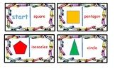 2d Shapes - Flat Shapes - Dominoes.