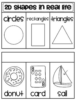 2d Shapes in Real Life Book (Geometry in the Environment)
