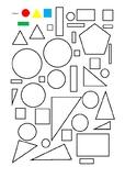 2d shape - colour by shape