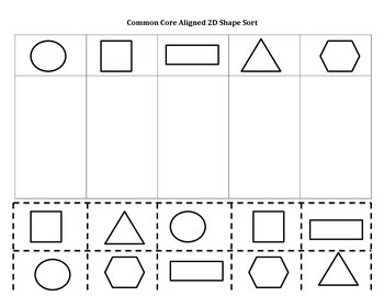 2d shape sort