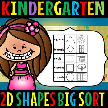 2d shapes BIG SORT
