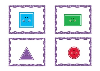 2d shapes Read and Write the Room