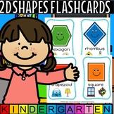 2d shapes flash cards