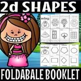2d shapes foldable booklet.