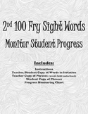 2nd 100 Fry Sight Words: Progress Monitoring Packet