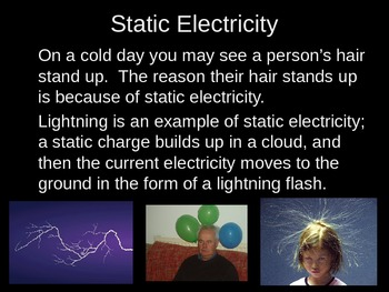 2nd 3rd 4th 5th Grade Science Electricity