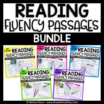 Reading Fluency and Comprehension - BUNDLE