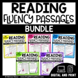 Reading Fluency Passages and Comprehension - BUNDLE - Distance Learning
