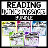Reading Fluency Passages and Comprehension - BUNDLE