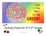 2nd-3rd Activity Pack For What Do You Mean It's Not Green? Aligns to Common Core