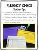 2nd 3rd FLUENCY CHECK Reading Comprehension Passages