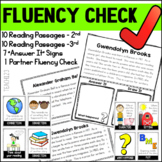 Fluency Passages Reading Comprehension 2nd 3rd Grade