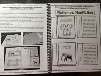 *2nd-3rd Grade* HARD COPY Interactive Reading Informational Text Notebooks