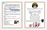 2nd & 3rd Grade Halloween Party invite (Imaginary) Microsoft Word Windows 8/8.1
