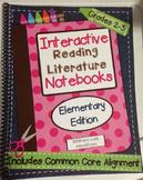 *2nd-3rd Grade* Interactive Reading Literature Notebooks Spiral Bound HARD COPY