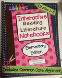 *2nd-3rd Grade* Interactive Reading Literature Notebooks Spiral Bound HARD COPY