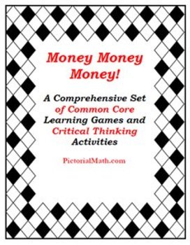 Money Super Set: Common Core Activities, Games. Problem Solving