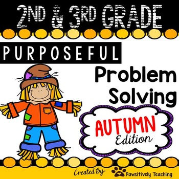 2nd & 3rd Grade Problem Solving: Autumn Edition