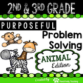 2nd & 3rd Grade Problem Solving: Animal Edition