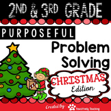 2nd & 3rd Grade Problem Solving: Christmas
