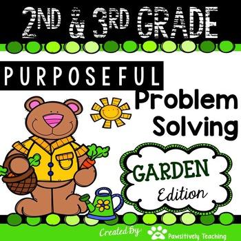 2nd & 3rd Grade Problem Solving: Garden Edition