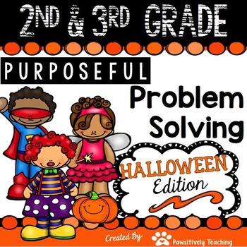 2nd & 3rd Grade Problem Solving: Halloween Edition