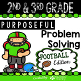 2nd & 3rd Grade Problem Solving: Football Edition