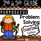 2nd & 3rd Grade Problem Solving: Camping Edition