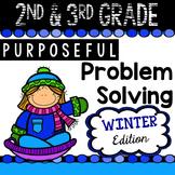 2nd & 3rd Grade Problem Solving: Winter Edition