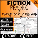 2nd & 3rd Grade Reading Comprehension Passages: Nature {Fiction Set 1/7} (DOCS)