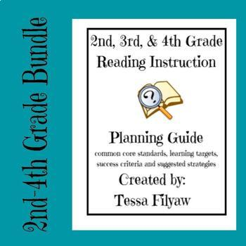 2nd, 3rd, and 4th Grade Reading Planning Guide With Success Criteria
