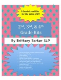 2nd, 3rd, and 4th Grades Tier 2 Vocabulary Kits