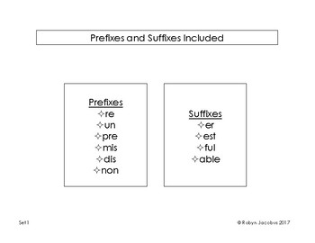 2nd/3rd grade Prefix and Suffix Reading Passage Assessments
