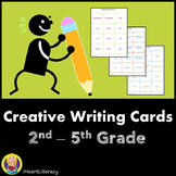 Creative Writing Cards - 2nd - 5th Grade (Common Core Aligned)
