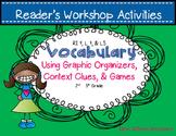 Reading Workshop Vocab Centers & Station Activities - RI 4, L4, L5